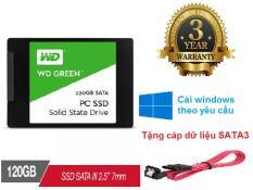 Ổ cứng SSD WD Green 120GB/240GB/480GB – Bảo hành 36 tháng