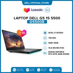 Laptop Dell G5 15 5500 15.6 inches FHD (Intel / i7-10750H / 16GB / 1TB SSD / NVIDIA GeForce RTX 2070, 8GB GDDR6 / Finger Print / Win 10 Home Plus SL) l Black l G5500B (P89F003) l HÀNG CHÍNH HÃNG