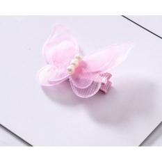 Hot trend) Kẹp tóc hình bươm bướm cho bé gái.