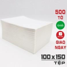 Tệp 500 Tờ Giấy A6 in đơn hàng TMĐT cho máy in Rongta RP421 – Abit Q900 – HPRT N41 – Xprinter XP DT108B Size 100x150mm 10x15CM