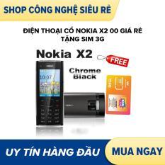 Điện thoại cổ nokia x2 00 giá rẻ tặng sim 3g
