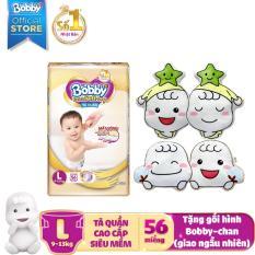 [New] Tã quần cao cấp siêu mềm Bobby Extra Soft Dry L56 (9-13kg)