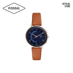 Đồng hồ nữ FOSSIL Hybrid Smartwatch Harper dây da FTW5027 – Nâu