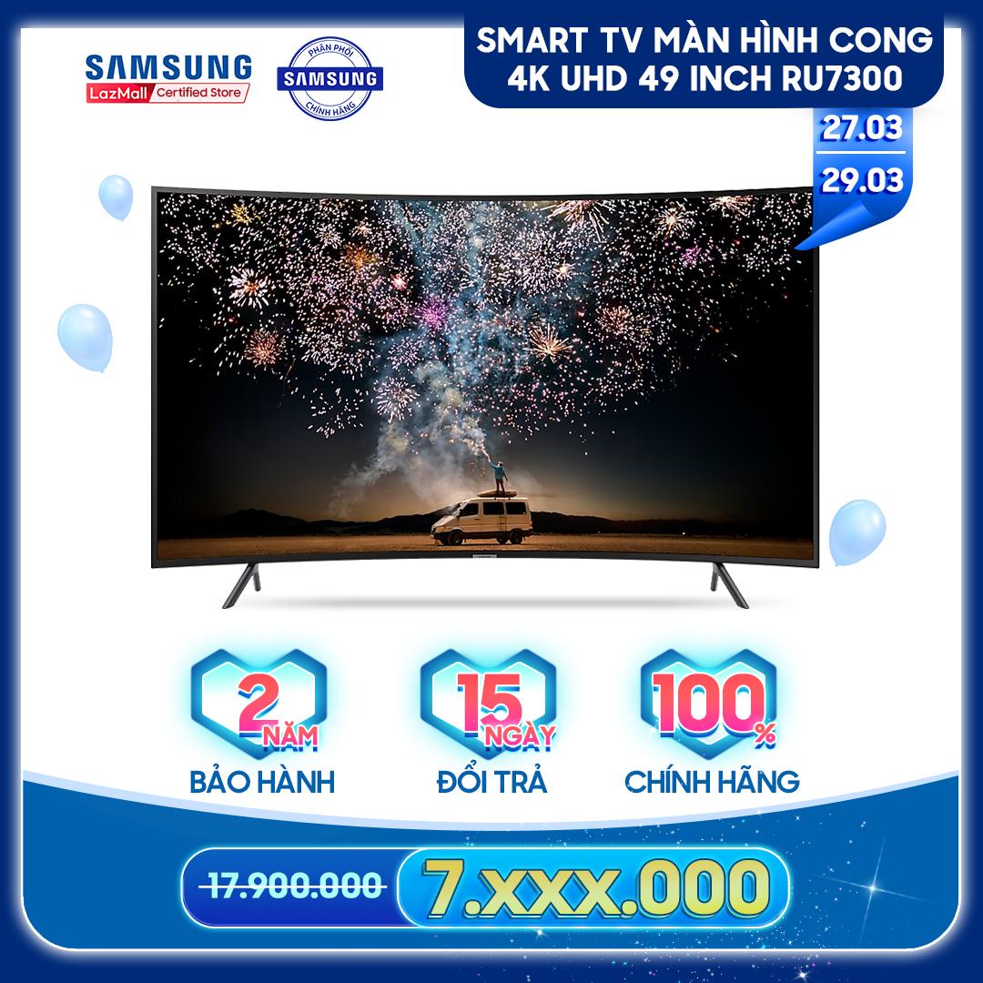 Smart TV Samsung màn hình cong 4K UHD 49 inch RU7300 – TV