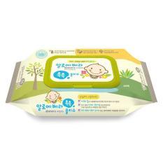 Khăn giấy ướt cao cấp Aloe Vera Chok Chok 80 tờ/gói