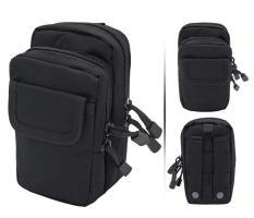 Túi đeo hông vải bố 800D ( Đen/ Be/Xanh lá)