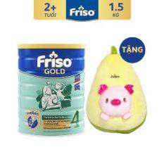 [Tặng Quả Bơ Nhồi Bông] Sữa Bột FRISO GOLD 4 1500g