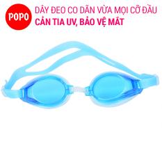 Kính bơi trẻ em cho bé trên 2 tuổi POPO 1152 nhỏ gọn mắt kính trong phù hợp cho bé từ 2 đến 10 tuổi
