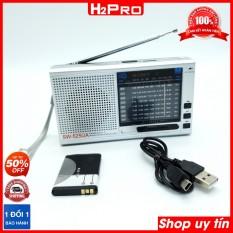 Đài radio FM Sony SW-525UA, 9 Band, Đọc USB, Thẻ nhớ, nghe đài trong nước và nước ngoài (tặng pin sạc và dây sạc 79K)