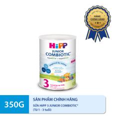 [FREESHIP] [MUA 1 TẶNG 1 HÀNG DATE 30.4.2021] Sữa HiPP 3 JUNIOR COMBIOTIC 350g- Non GMO, tăng sức đề kháng