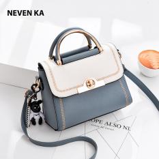 Túi xách nữ phối màu trẻ trung thương hiệu NEVENKA N8878