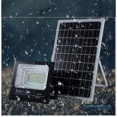 Bộ đèn Led pha năng lượng mặt trời 100W siêu sáng- Có chế độ bật tắt tự động, điều khiển từ xa, chống nước IP65