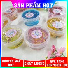 Slime hủ to an toàn nhân kim tuyến cực đẹp 180ml ✓Vui nhộn ✓Giá rẻ ✓Chất nhờn má quái ✓ Nguyễn Thùy Store