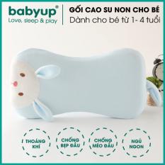 Gối cao su non cho bé ngủ ngon. Gối chống bẹp đầu cao cấp. Gối dành cho bé từ 1-2 tuổi đến 6 tuổi. Gối thoáng khí cho bé ngủ ngon