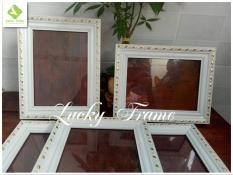 Bộ 5 khung ảnh cưới 13x18cm để bàn+treo tường
