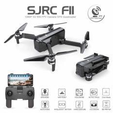 Flycam sjrc f11 GPS camera 1080p xoay 90 độ bay xa 1km, pin 25 phút , follow me & tự bay về