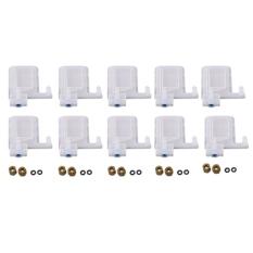 10PCS Eco Solvent Printer Ink Damper Dx5 Printhead Dumper for Epson Print Head Mutoh Galaxy Allwin Human Xuli Plotter 4x3Mm Tube