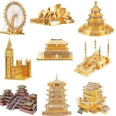 Mô hình 3D bằng thép tự ráp Piececool công trình nổi tiếng
