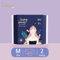 Băng vệ sinh ban đêm dạng quần Deyo Băng ban đêm dạng quần Dùng một lần (mỗi gói 2 miếng)