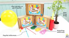 Hộp bong bóng-hộp đồ chơi khoa học cho trẻ từ 6 tuổi