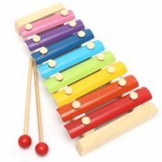 Đàn gõ 8 thanh bằng gỗ đồ chơi phát triển năng khiếu âm nhạc cho bé