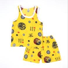Bộ lanh quần đùi, áo sát nách bé trai Việt Thắng B62.2101 – Thoải mái vận động