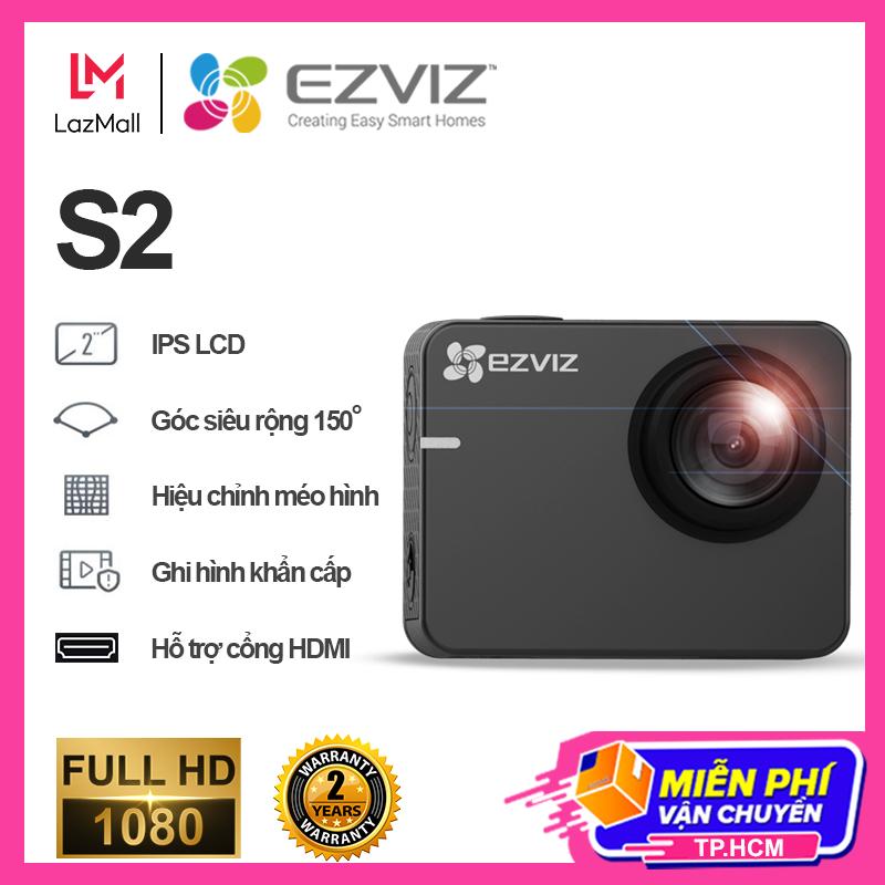 Camera Ezviz S2 Starter Kit-Grey camera hành trình – Full HD 1080P-60fps Hàng chính hãng Bảo hành 24 tháng