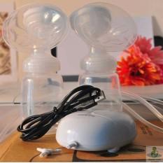 Máy hút sữa điện đôi Real bubee, Có chế độ matxa, kích sữa, 9 cấp hút siêu mạnh