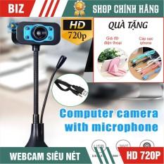 [Nhập ELJAN11 giảm 10%, tối đa 200k, đơn từ 99k]Webcam Dùng Cho Máy Tính Có Tích Hợp Mic Và Đèn Led Trợ Sáng – Bảo Hành 12 Tháng !!!
