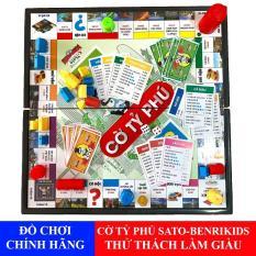 Đồ Chơi Trí Tuệ Sato Cờ Tỷ Phú Board Games Khám Phá Tư Duy Làm Giàu Của Bé