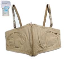 ( Free Size ) Áo hút sữa rãnh tay kèm 2 dây áo cho mẹ, có nút điều chỉnh ( Tặng kèm 05 túi trữ sữa )