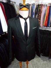 [Xả Hàng Cuối Năm] Bộ vest đen form ôm body chất vải mềm mịn giá hạt dẻ