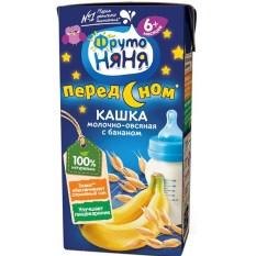 Sữa Fruto ban đêm vị chuối+yến mạch200ml cho bé 6 tháng