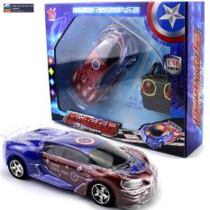 Xe ô tô điều khiển từ xa 4 hướng Captain America tỷ lệ 1:18