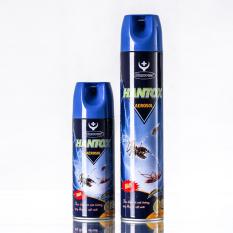 Bình Xịt Diệt Muỗi Ruồi Kiến Gián Hantox Aerosol 400ml