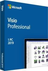 MS Visio Pro 2019 Active 1 PC Trọn Đời Chính Hãng