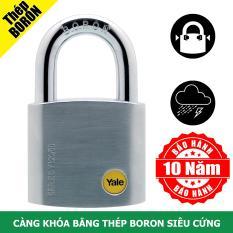 Ổ khóa cửa có càng khóa bằng thép Boron rất cứng Yale Y120/50/127/1 màu Satin mạ Chrome