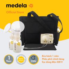 Máy hút sữa │ Máy hút sữa điện đôi Medela Pump in style advanced on the go tote – Hàng phân phối chính thức Medela Thụy Sĩ