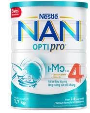 [HCM] Sữa Bột Nestle Nan Optipro 4 1.7kg ( 2-6 tuổi )