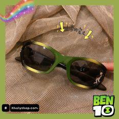 Mắt kính mát cao cấp hình Ben10 màu xanh lá siêu xinh cho trẻ em, bé trai – 37P5NMKBEN