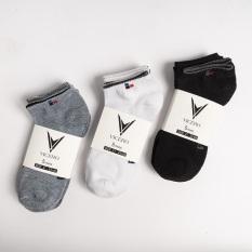 Combo 10 đôi tất vớ nam VICERO chất cotton mềm mịn công nghệ nano kháng khuẩn khử mùi full hộp