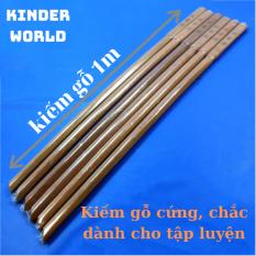 Kiếm nhật katana bằng gỗ cứng dùng để tập luyện, trưng bày
