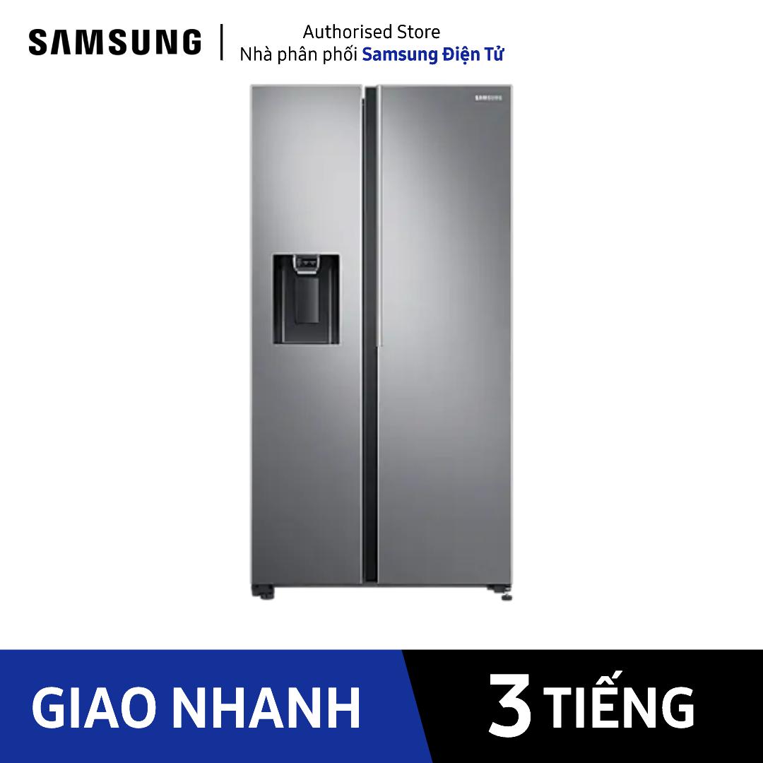 [Trả góp 0%]RS64R5101SL/SV – Tủ lạnh Samsung Inverter 617 lít