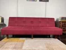 Sofa bed. Ghế giường đa năng. Màu đỏ.