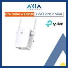 Bộ Kích Sóng Wi-Fi tốc độ 300Mbps TL-WA855RE repeater wifi không dây có đèn tín hiệu thông minh – Hàng Chính Hãng