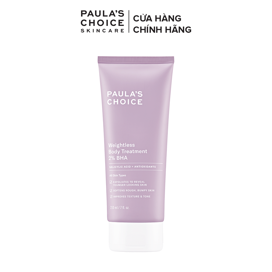 Kem dưỡng thể Paula's Choice RESIST WEIGHTLESS BODY TREATMENT WITH 2% BHA-5700