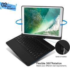 [HÀNG NHẬP KHẨU HOT] Bàn phím Bluetooth F360 cho iPad Pro 10.5 có 7 màu đèn – Bảo hành 6 tháng