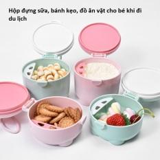 Hộp Đựng Sữa Bột, Đồ Ăn Tiện Dụng Cho Bé Khi Đi Chơi, Du Lịch Cùng Gia Đình