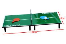 Bộ đồ chơi bóng bàn mini 90x40cm, đồ chơi trong nhà, bóng bàn mini