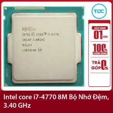 Bộ vi xử lý Intel CPU Core i7-4770 3.40GHz ,84w 4 lõi 8 luồng, 8MB Cache Socket Intel LGA 1150